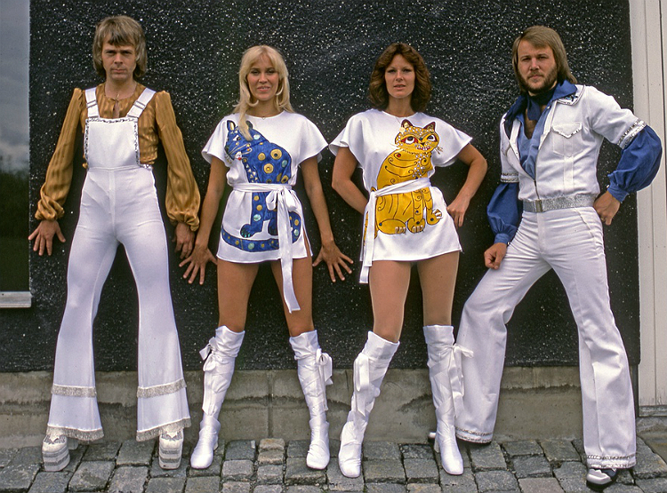 ABBA, fashion, social media, fad, Toby Elwin, blog, top, 2011