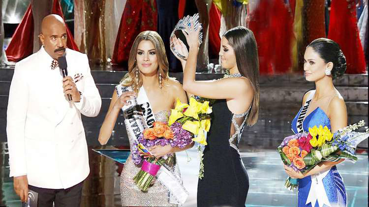 Steve Harvey, Ms Colombia, Ms Philippines, Ms Universe, Top Blogs, Toby Elwin, 2015