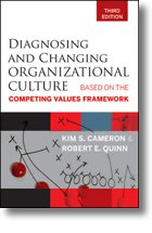Diagnosing Changing Organizational Culture, Kim Cameron, Robert Quinn, Toby Elwin, Competing Values, Framework, OCAI, organization, culture, assessment, instrument
