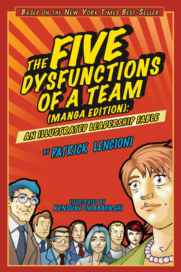 The Five Dysfunctions of a Team, Patrick Lencioni , toby elwin, 4 questions leaders need