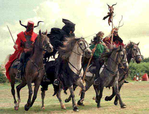 Four Horsemen of Apocalypse, toby elwin, community persona, persona, design