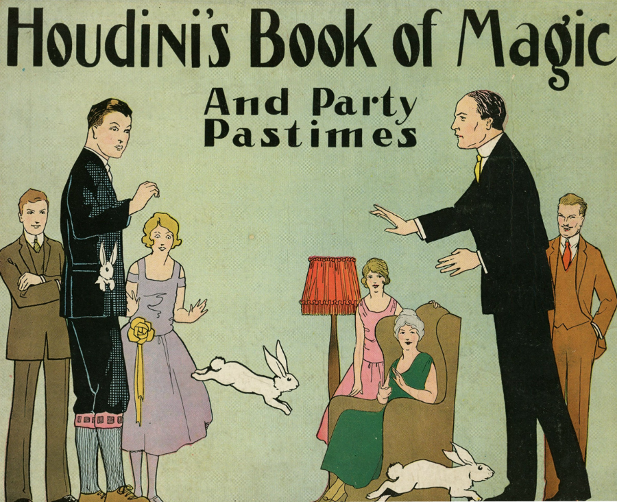 Harry Houdini, book, magic, cover