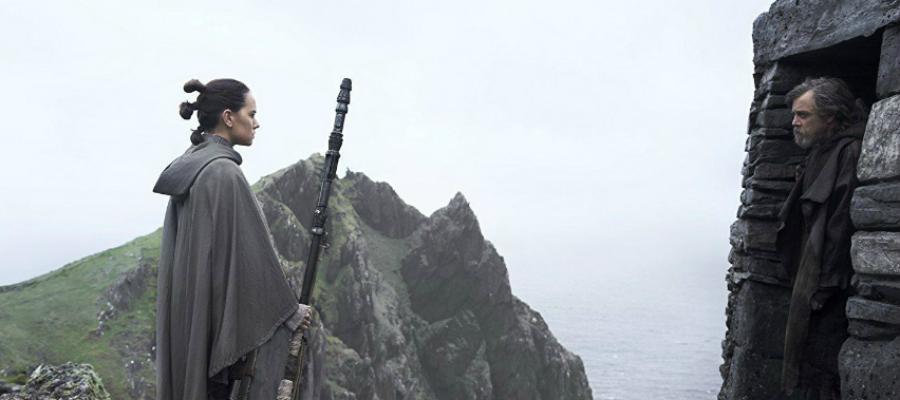 Luke Skywalker, Rey, Star Wars, train, learn