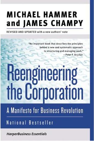 Reengineering the Corporation, Manifesto for Business Revolution, book, Toby Elwin, digital marketing, social media, Michael Hammer, James Champy
