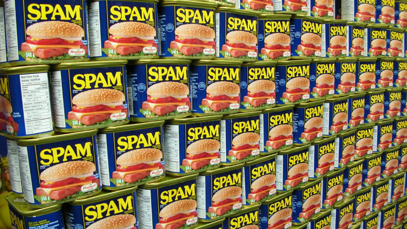 Spam, can, food, Fast Start, blog