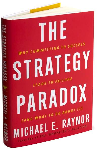 Michael Raynor, Strategy Paradox, Deloitte, Toby Elwin
