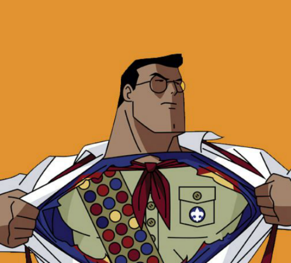 Superman, boy scout, project management, promise, project, process