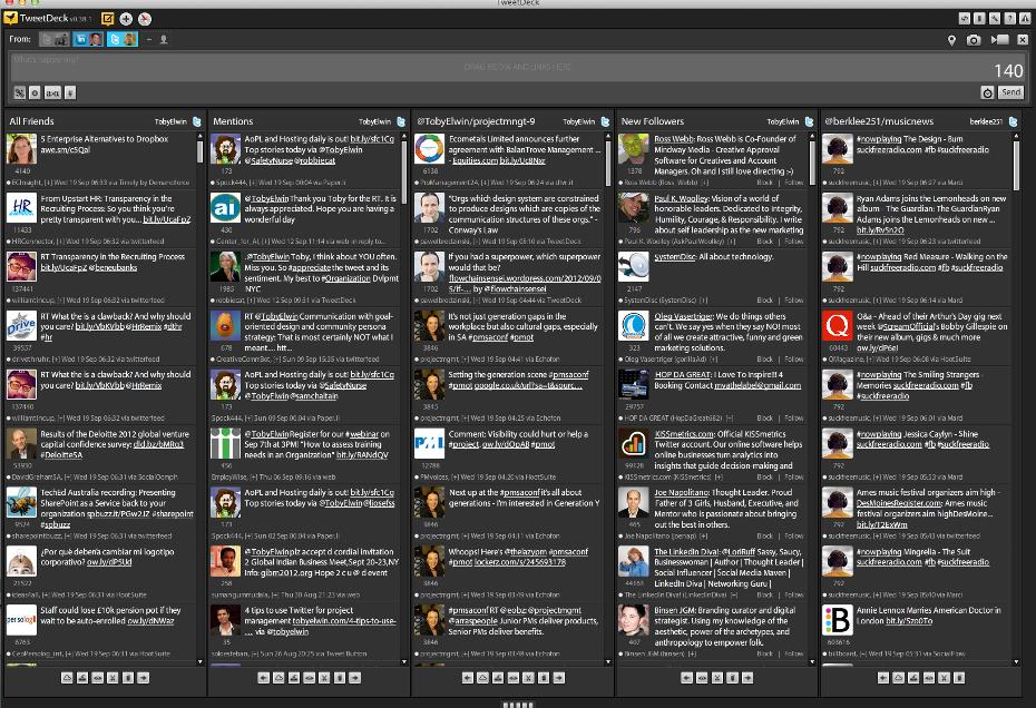 Toby Elwin, TweetDeck, Twitter, Social Media