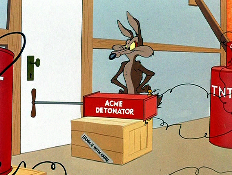 Wile E Coyote, motivation, blog, Toby Elwin