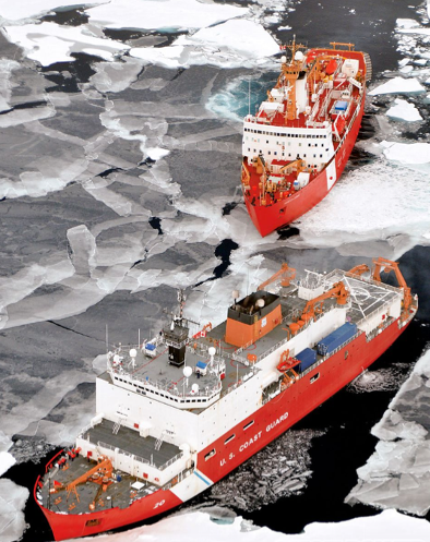 icebreaker, meeting, facilitation, Toby Elwin, US Coast Guard Cutter Healy, Canadian Coast Guard