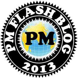 #pmflashblog, project management, flash, blog, Toby Elwin